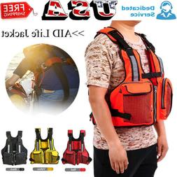 Adult Aid Life Jacket Fishing Surfing Boating Swimming Water