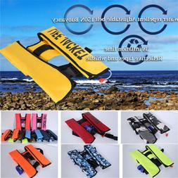Adult Automatic Inflatable Life Jacket Inflation 150N PFD Su