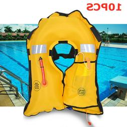 Adult Automatic Inflatable Swimming Life Jacket Fishing Life