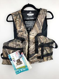 Stearns Adult Camo Life Jacket Vest RealTree Max US Coast Gu