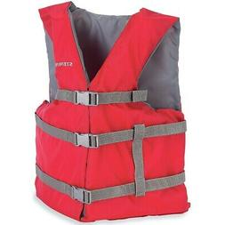 Stearns Adult Classic Nylon Life Jacket, Oversized
