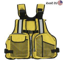 Adult Inflatable Life Jacket Aid Sailing Boating Swimming Ka