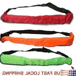 Adult Inflatable PFD Waist Belt Life Jacket Manual / Automat