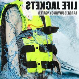 Adult Kid Safety Life Jacket Aid Sailing Boating Swimming Ka