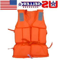 Adult Kid Safety Life Jacket Preserver Aid Sailing Boating S