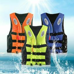 Adult Kid Youth Life Jacket Drifting Swimming Boating Fishin