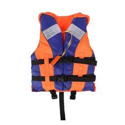 Adult Kids <font><b>Life</b></font> Vest with Whistle Reflec