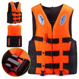Adult Kids Life Jacket Kayak Ski Buoyancy Aid Vest Sailing F