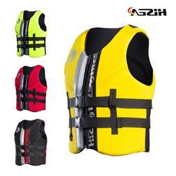 Adult Kids Life Jacket Swimming Buoyancy Aid Neoprene Swim F