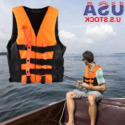 Adult Kids Life Jacket Universal Swimming Boating Surfing Sk