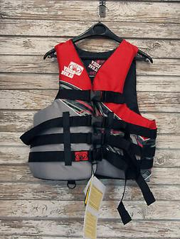 Body Glove Adult Large-XL USCG Type III Life Jacket Nylon Sk