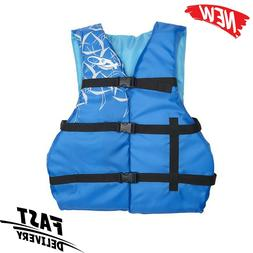 Adult Life Jacket PFD USCG Type III Universal Boating Ski Ve