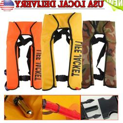 Adult Manual/Automatic Inflatable Life Jacket Inflation 150N