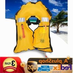 Adult Manual Automatic Inflatable Life Jacket Vest Survival