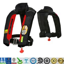 Adult Manual Inflatable Universal Life Jacket Sailing Boatin