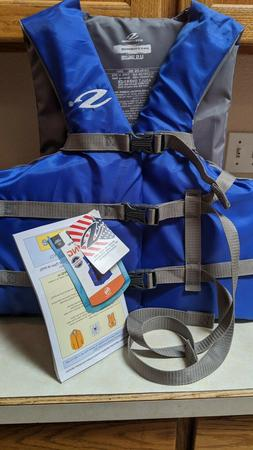 """Stearns Adult Oversize boating life vest 52-62"""" chest NEW w"""