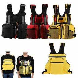 Adult Safety Life Jacket Aid Buoyancy Sailing Boating Swimmi