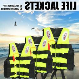 Adult Safety Life Jacket Aid Sailing Boating Swimming Kayak