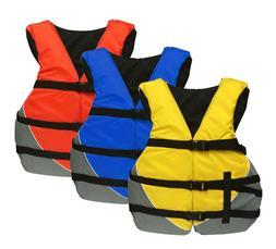 MW Adult Universal Life Jacket USCG Ski Flotation Vest PFD -