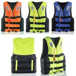 Adults Kids Life Jackets Vest Kayak Buoyancy Aid Safe Sailin