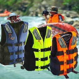 Adults Life Jacket Premium Neoprene Vest Water Ski Wakeboard
