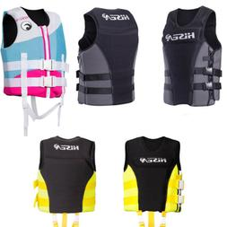 adults life jacket premium neoprene vest water