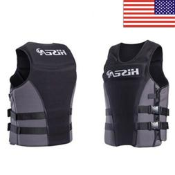 Adults Life Jacket Safety Premium Neoprene Vest Water Ski Wa