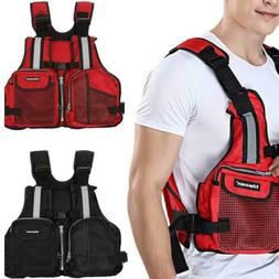 adults life jacket vest for kayak fishing