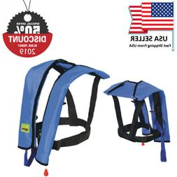 Black Friday Sale Automatic/Manual Inflatable Life Jacket Ve