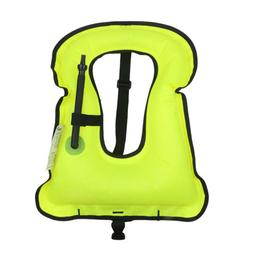 Sports Outdoor Adults Survival Inflatable Life Jacket Vest S