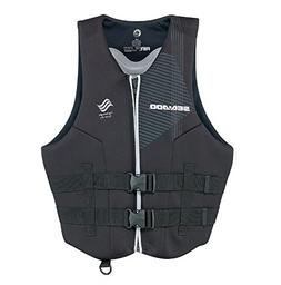 Sea-Doo New Airflow PFD Life Vest Black Men's Size 3XL XXXL