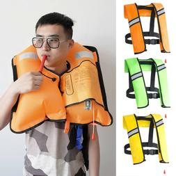 aotu inflatable life jacket water sports safety