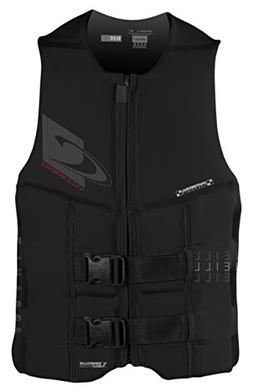 O'Neill Wetsuits  Men's Assault USCG Life Vest,Black,Medium