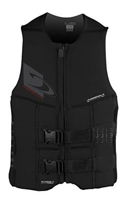 O'Neill Men's Assault USCG Life Vest, Black,3X-Large