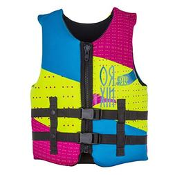 Ronix August Girl's Front Zip CGA Vest Youth  Kid's Life Jac