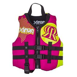 Ronix August Girl's Front Zip CGA Vest Child  KId's Life Jac