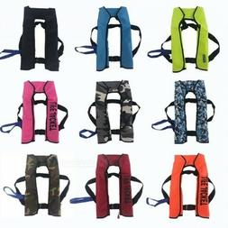 Automatic Inflatable Life Jacket Pro Adult Fishing Vest Swim