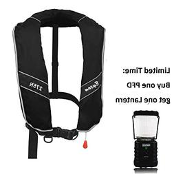 Eyson Automatic/Manual Inflatable Life Jacket Life Vest PFD
