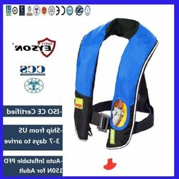 Automatic Inflatable PFD  Life Jacket Vest 150N Eyson Neck T