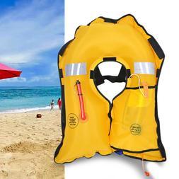 Automatic Inflatable Swimming Life Jacket Fishing Life Vest