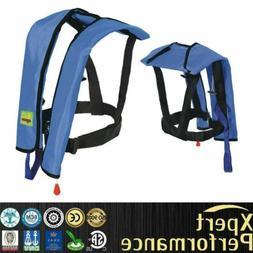 Automatic/Manual Life Jacket Vest Auto Inflatable Survival P