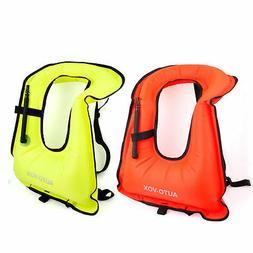 autovox swimming snorkeling vest safety life jacket