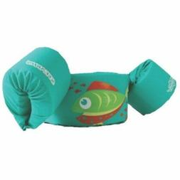 Stearns Basic Green Fish Puddle Jumper CGA Life Jacket for k
