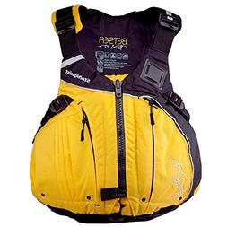Stohlquist Women's Betsea Personal Floatation Device, Mango/