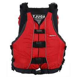 NRS Big Water V PFD Red One Size
