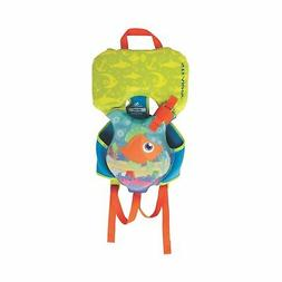 Coleman Infant Blue and Green Stearns Hydroprene Life Vest -