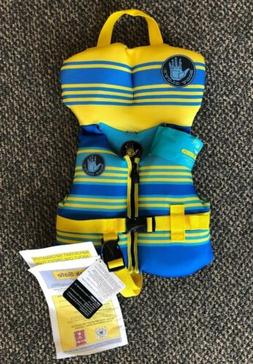 Body Glove Blue Yellow Striped Infant Boys Less Than 30lbs P
