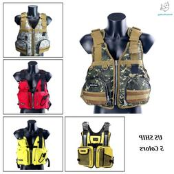 Boat Buoyancy Aid Sailing Kayak Fishing Life Jacket Vest Gre