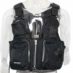 Boat Life Jacket Fishing Vest Kayak Adult Adjustable Swimmin