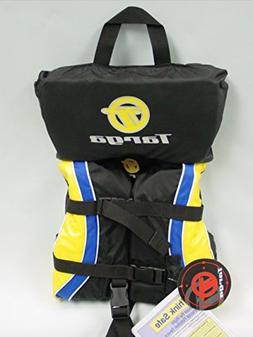 Bombardier Targa Kid's Nylon Life Jacket Vest PFD Infant Yel